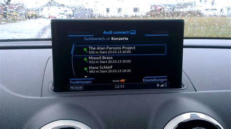 audi  sportback mmi navigation  mmi touch audi