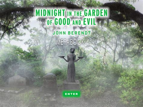midnight in the garden of and evil book midnight in the garden of and evil metabook apppicker