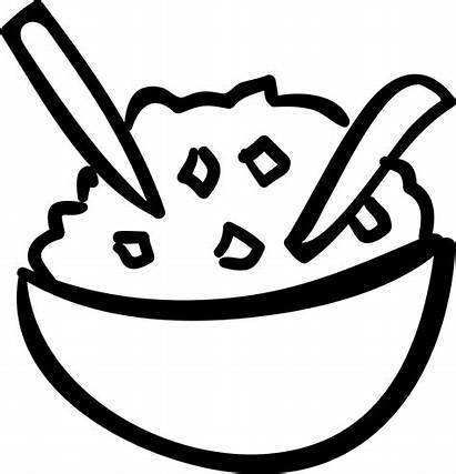 Rice Bowl Icon Clipart Vector Svg Icons