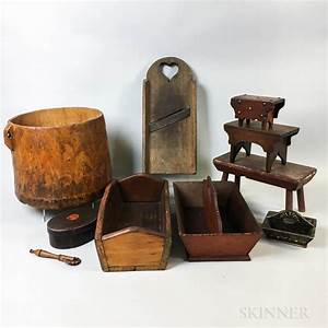 Group, Of, Decorative, Wooden, Items