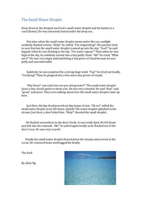 Raindrops essay