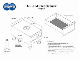 40 Under Sink Grease Trap Installation  Customer