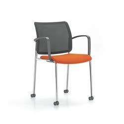 visitors chairs side chairs with four leg base on