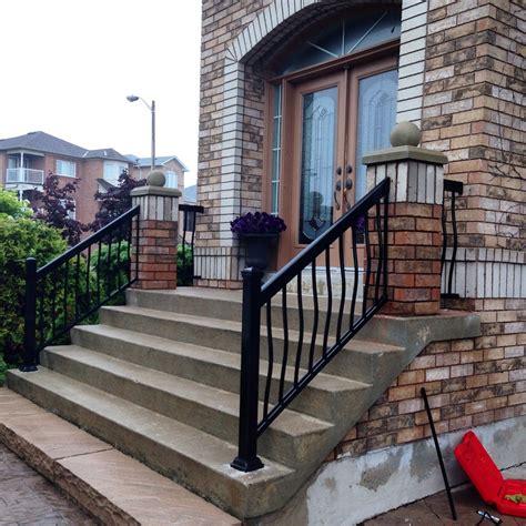 metal porch railing aluminum porch railings ideas railing stairs and kitchen