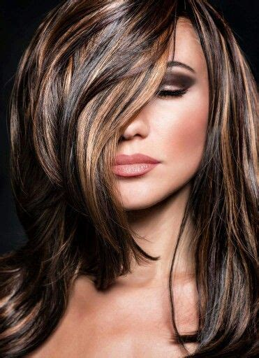 Top Ten Brown Hair Colors by Highlights Lowlights For Brown Hair Beautiful