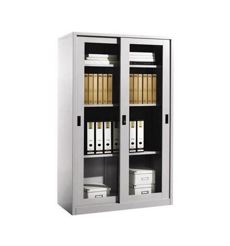 Sliding Glass Cupboard Doors by Steel Height Cupboard With Sliding Glass Doors