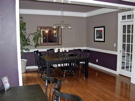 Purple Grey Paints For Dining Room Quecasita