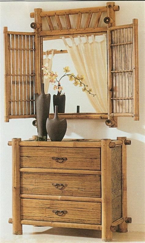bamboo home decor bamboo bedroom dresser can be use for a real windows