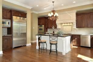 bisque kitchen faucet pictures of kitchens traditional two tone kitchen