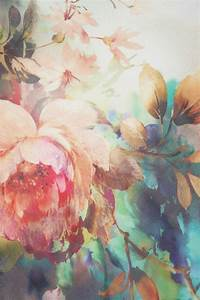 Colorful floral pattern / painting | Color & Texture ...