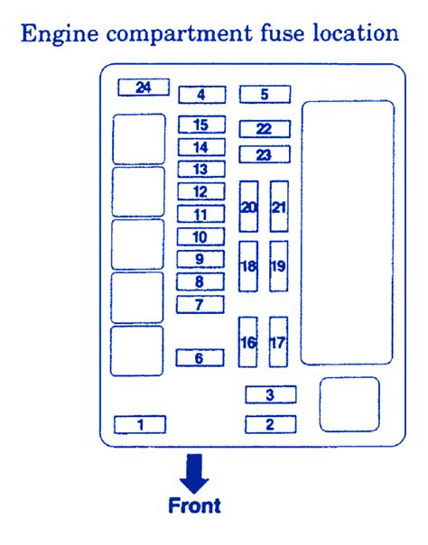 2006 Mitsubishi Fuse Box Diagram by Mitsubushi Lancer Vii 2006 Engine Fuse Box Block Circuit