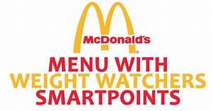 Smartpoints Berechnen : mcdonald s menu with weight watchers smartpoints weight watchers recipes ~ Themetempest.com Abrechnung