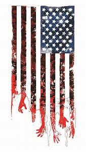 Tattered American Flag iPhone 5 Wallpaper (640x1136)
