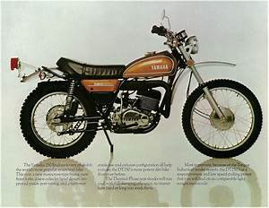 1975 Yamaha Dt250 Dt 250 Trail 4 Pages Motorcycle Brochure