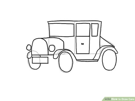 How To Draw A Car Step By Step With Pictures by 4 Easy Ways To Draw Cars With Pictures Wikihow