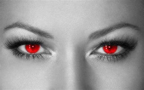 Red Eyes By Solsun On Deviantart