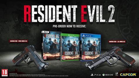 Resident Evil Order Resident Evil 2 Gets New Gameplay Previews Artwork Dead