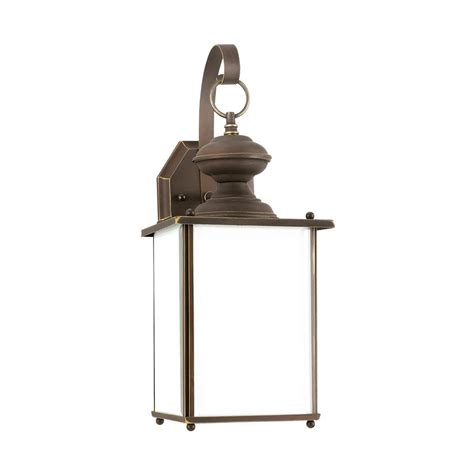 kitchen led lighting sea gull lighting jamestowne 1 light antique bronze 2135