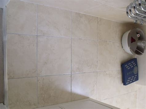 tile floor  small bathroom   grouting tiling