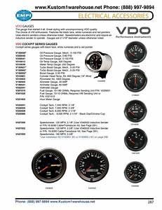 Vdo Tachometer Manual