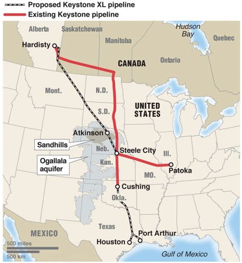 Keystone XL Pipeline Construction Back on the Drawing ...