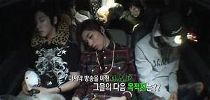 hello, bye , All of them are sleeping, except Youngjae