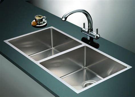 Kitchen Sinks : 865x440mm Handmade Stainless Steel Undermount / Topmount