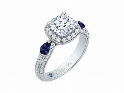 18k Engagement Ring Gold Carizza