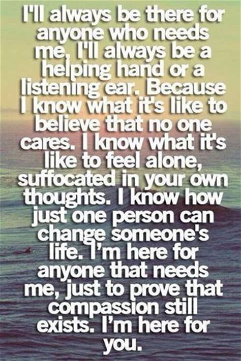 Im Here For You Quotes Pinterest