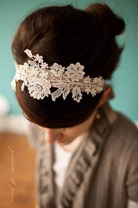 diy wedding headbands moposa wedding planning ideas miscellaneous bridal hotspot show you how to make your own lace