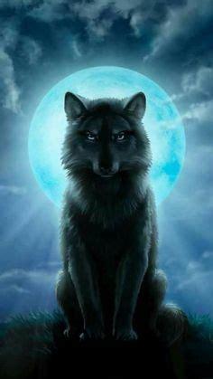 Beautiful Anime Wolf Wallpaper by Bimbo Bimbo And