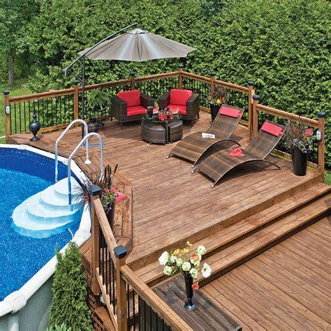 plaisirs du patio au bord de l eau patio inspirations jardinage et ext 233 rieur pratico