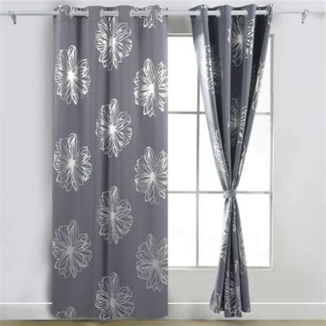 black and white blackout curtains industrial blackout
