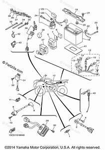 Yamaha Atv 2013 Oem Parts Diagram For Electrical