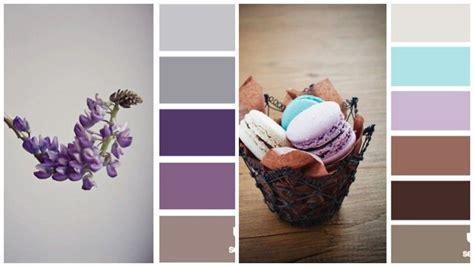 Flieder Grau Wandfarbe by Lavendel Flieder Braun Und Grau Farbpalletten K 252 Che