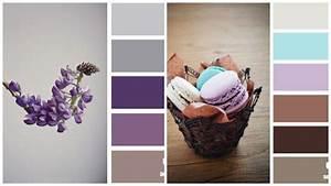Welche Farbe Zu Lila : lavendel flieder braun und grau farbpalletten in 2018 pinterest farben wandfarbe und ~ Bigdaddyawards.com Haus und Dekorationen