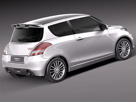 suzuki sports car models suzuki sport 2012 3d model max obj 3ds fbx c4d