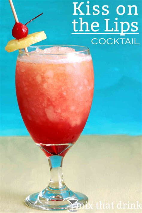 kiss on the lips drink recipe carnival cruise lines
