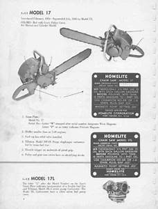 Chainsaw File Chart Vintage Homelite Chainsaw Downloadable Pdf Service Repair