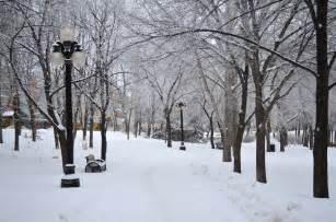 Winnipeg Manitoba Canada Snow