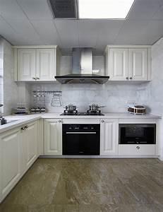 White L Shaped Kitchen Cabinet DesignInterior Design