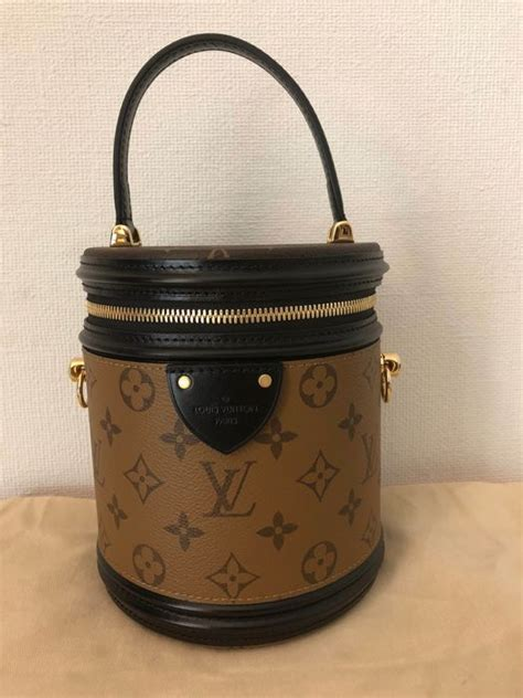 louis vuitton cannes monogram reverse shoulder bag fw