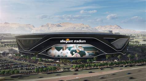 allegiant stadium football stadium digest