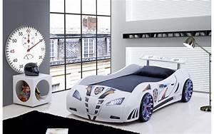 Lit Voiture Ikea : chambre pour garcon voiture pr l vement d ~ Teatrodelosmanantiales.com Idées de Décoration