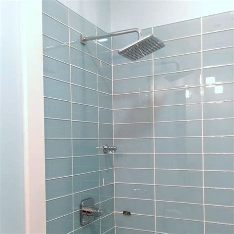best 25 glass tile shower ideas on