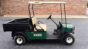 Super Clean 2010 Ezgo Mpt 1000 E  Golf Cart    Utility