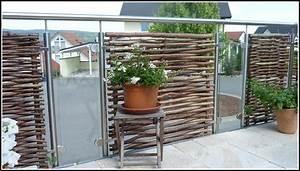 Sichtschutz Balkon Holz : sichtschutz terrasse holz und glas download page beste wohnideen galerie ~ Sanjose-hotels-ca.com Haus und Dekorationen