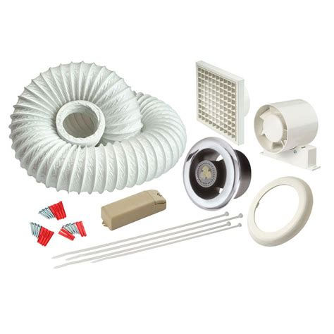 Bathroom Extractor Fans With Light by Manrose Ledslktc Led Showerlite Bathroom Extractor Fan And