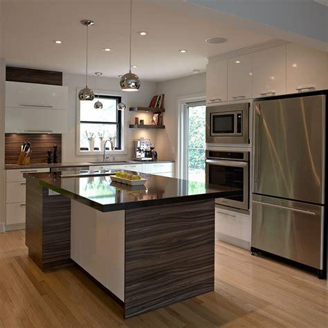 cuisine armoire brune cuisines beauregard cuisine réalisation 314