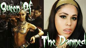 Queen Of The Damned Akasha Makeup Tutorial - YouTube